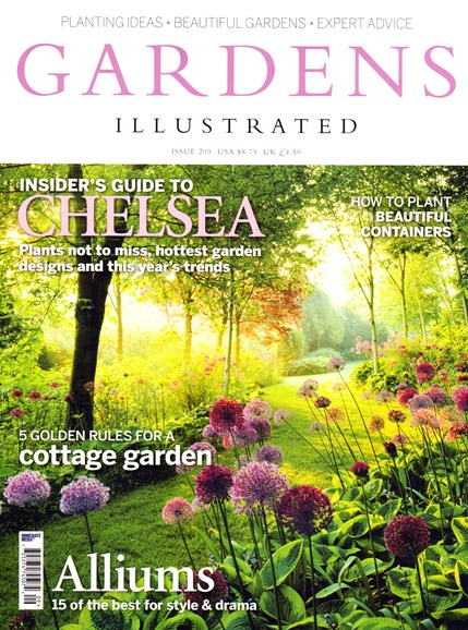 Gardens Illustrated Cover - 5/1/2014