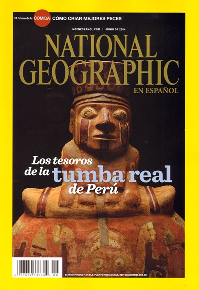 National Geographic En Español Cover - 6/1/2014