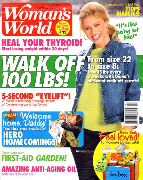 Woman's World Cover - 6/16/2014