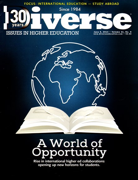 Diverse: Issues In Higher Education Cover - 6/5/2014