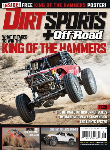 Dirt Sports & Off-Road Cover - 6/1/2014