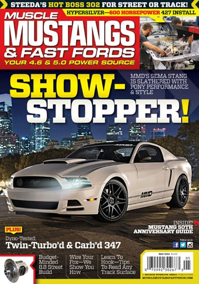 Muscle Mustangs & Fast Fords Cover - 5/1/2014