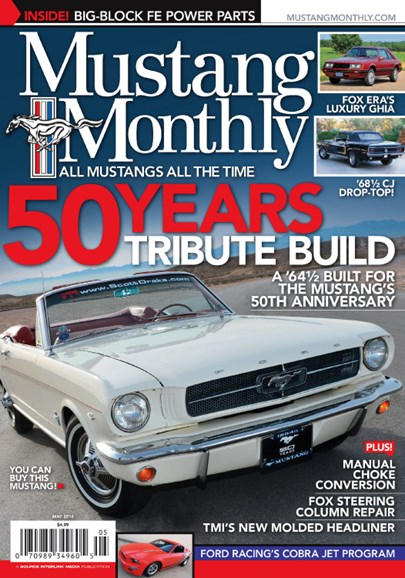 Mustang Monthly Cover - 5/1/2014