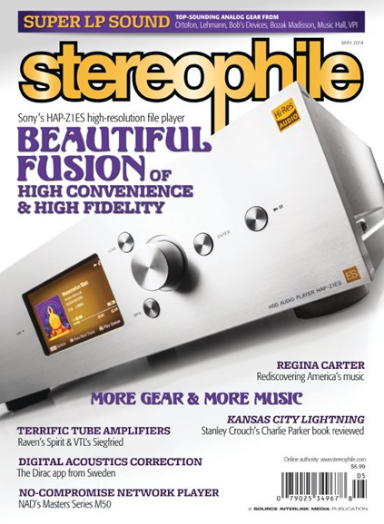 Stereophile Cover - 5/1/2014