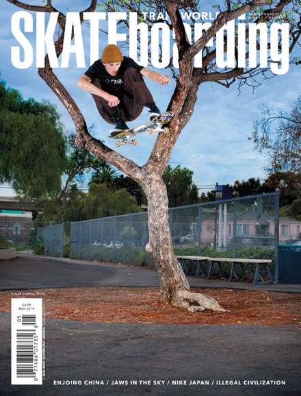 Transworld SKATEboarding Cover - 5/1/2014