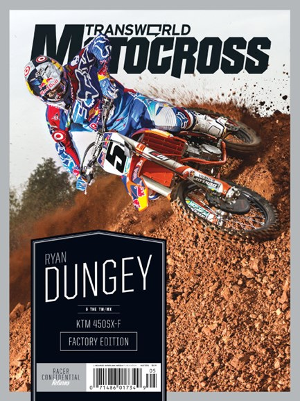 Transworld Motocross Cover - 5/1/2014