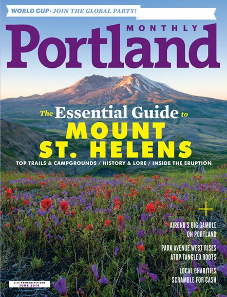 Portland Monthly Cover - 6/1/2014