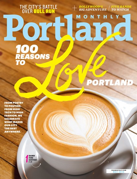 Portland Monthly Cover - 5/1/2014