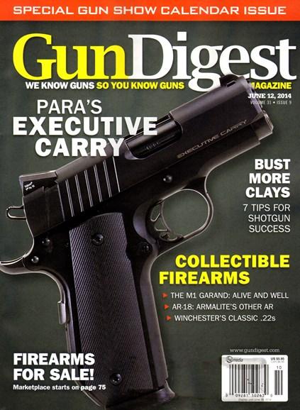 Gun Digest Cover - 6/12/2014