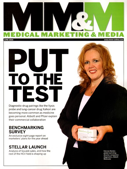 Medical Marketing & Media Cover - 6/1/2014