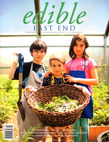 Edible East End Cover - 6/1/2014