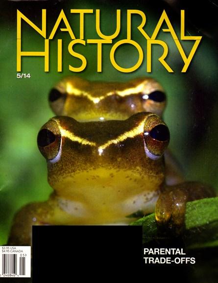 Natural History Cover - 5/1/2014