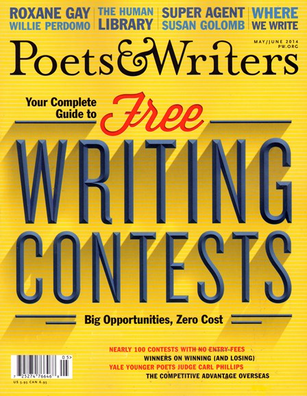 Poets & Writers Cover - 5/1/2014