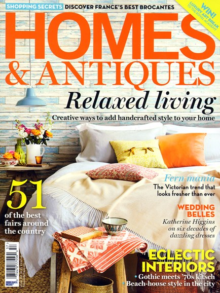 Homes & Antiques Cover - 6/1/2014