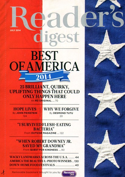 Reader's Digest Cover - 7/1/2014
