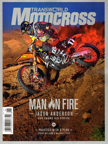 Transworld Motocross Cover - 6/1/2014