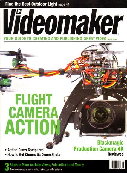 Videomaker Cover - 6/1/2014