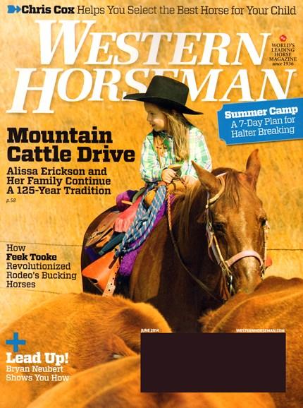 Western Horseman Cover - 6/1/2014