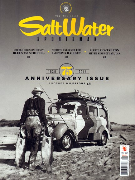 Salt Water Sportsman Cover - 6/1/2014