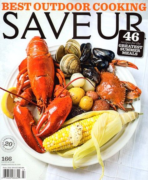 Saveur Cover - 6/1/2014