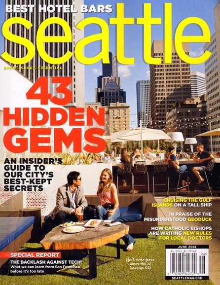 Seattle Magazine Cover - 6/1/2014