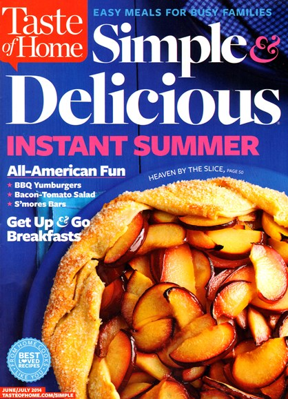 Simple & Delicious Cover - 6/1/2014
