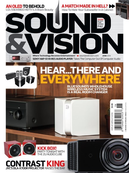 Sound & Vision Cover - 6/1/2014