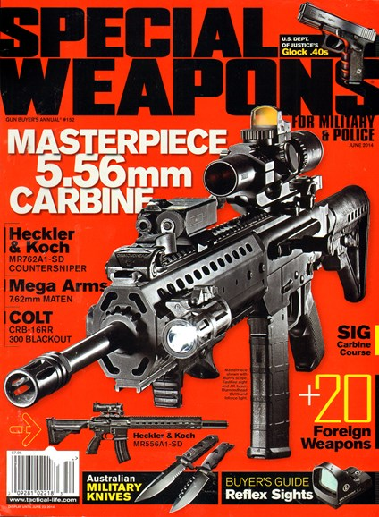 Special Weapons for Military & Police Cover - 6/1/2014