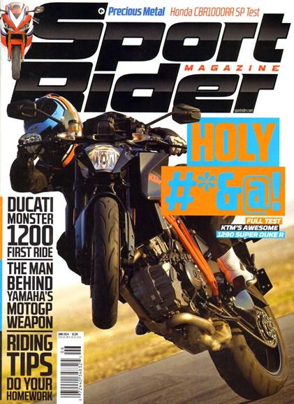 Sport Rider Cover - 6/1/2014