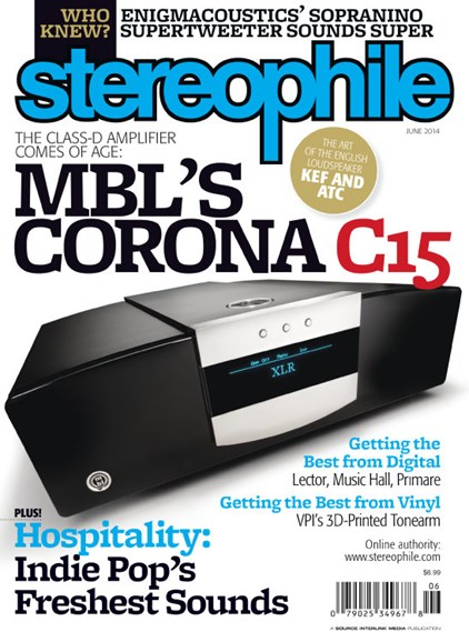 Stereophile Cover - 6/1/2014