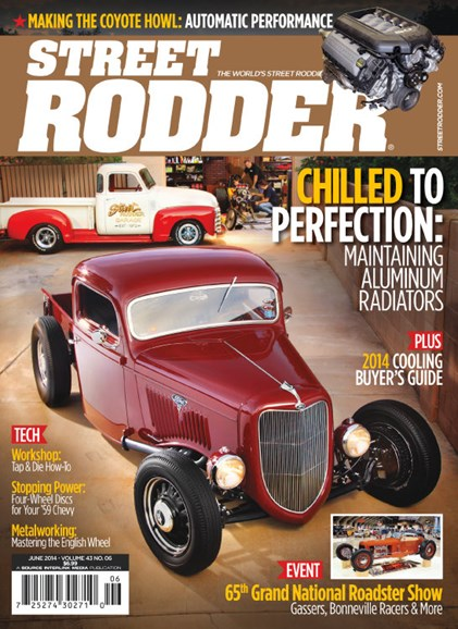 Street Rodder Cover - 6/1/2014