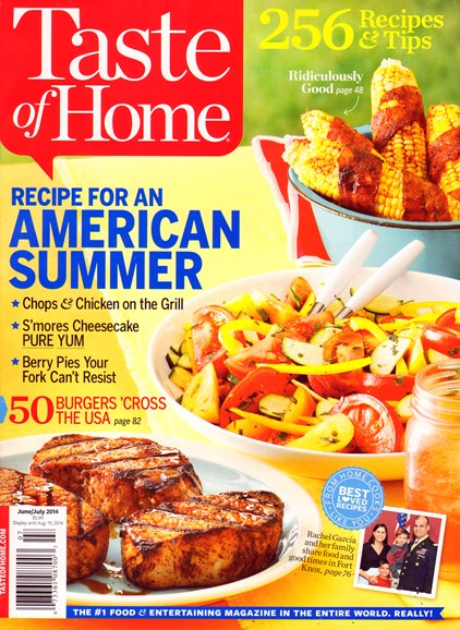 Taste of Home Cover - 6/1/2014