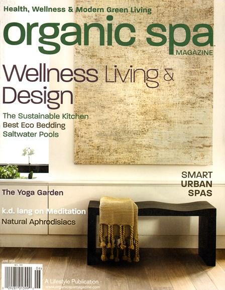 Organic Spa Cover - 6/1/2014