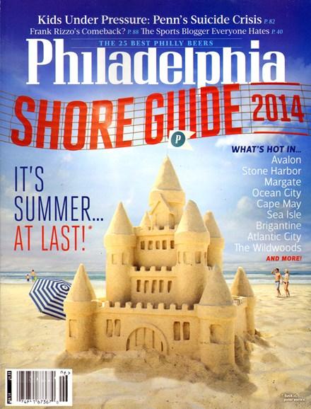 Philadelphia Magazine Cover - 6/1/2014
