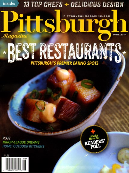 Pittsburgh Magazine Cover - 6/1/2014