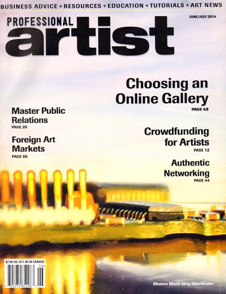 Professional Artist Cover - 6/1/2014