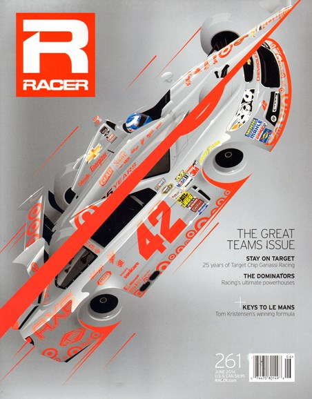 Racer Cover - 6/1/2014