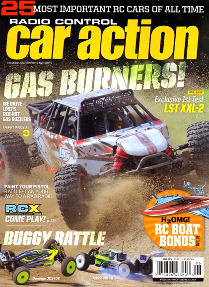 Radio Control Car Action Cover - 6/1/2014