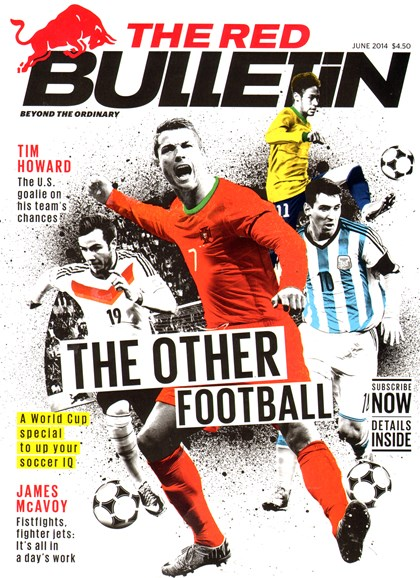 The Red Bulletin Cover - 6/1/2014