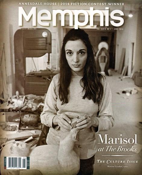 Memphis Cover - 6/1/2014