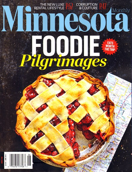 Minnesota Monthly Cover - 6/1/2014