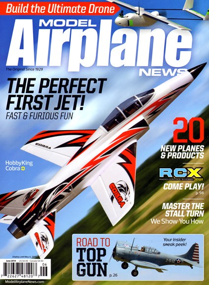 Model Airplane News Cover - 6/1/2014