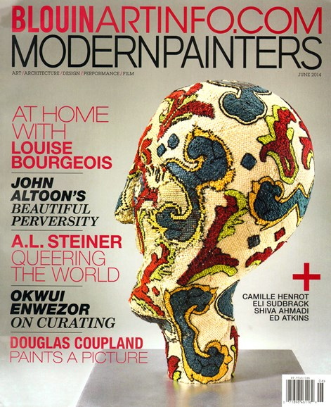 Blouin Modern Painters Cover - 6/1/2014