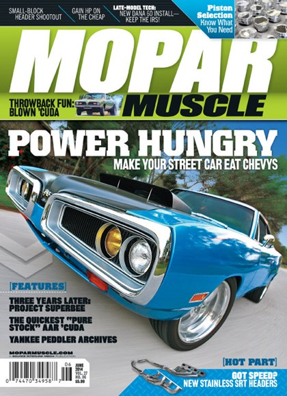 Mopar Muscle Cover - 6/1/2014