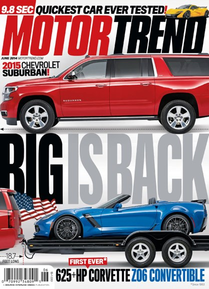Motor Trend Cover - 6/1/2014