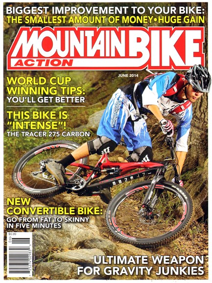 Mountain Bike Action Cover - 6/1/2014