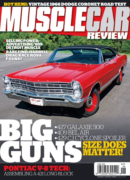 Muscle Car Review Cover - 6/1/2014