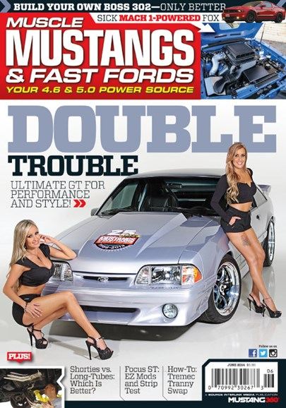 Muscle Mustangs & Fast Fords Cover - 6/1/2014