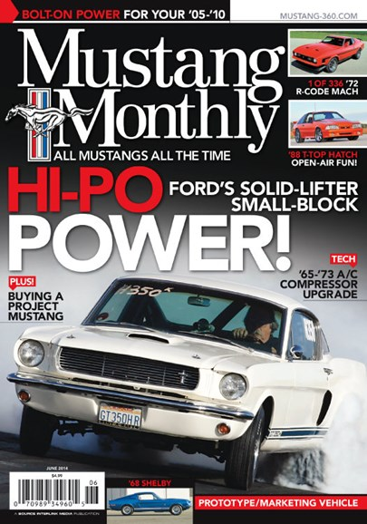 Mustang Monthly Cover - 6/1/2014