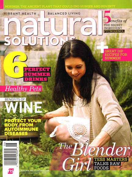 Natural Solutions Cover - 6/1/2014